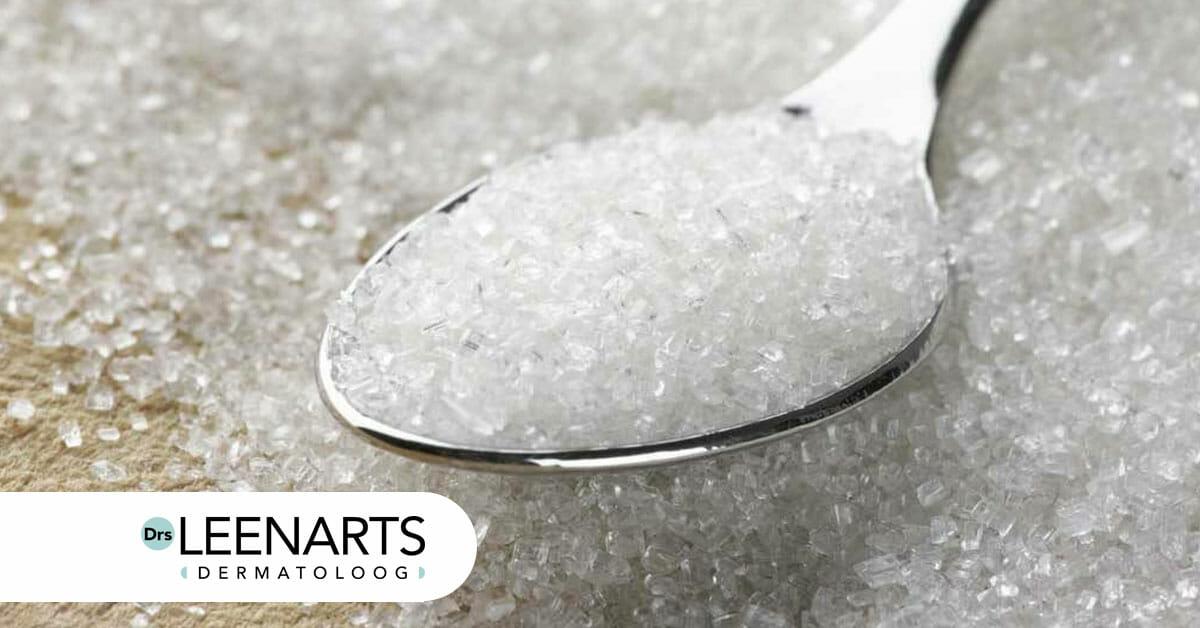 veroorzaakt suiker puistjes en acne?