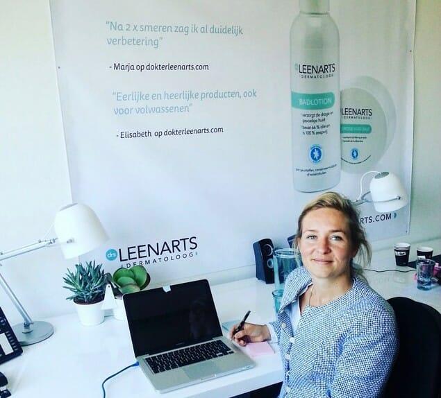 Dermatoloog Leenarts schrijft haar boek