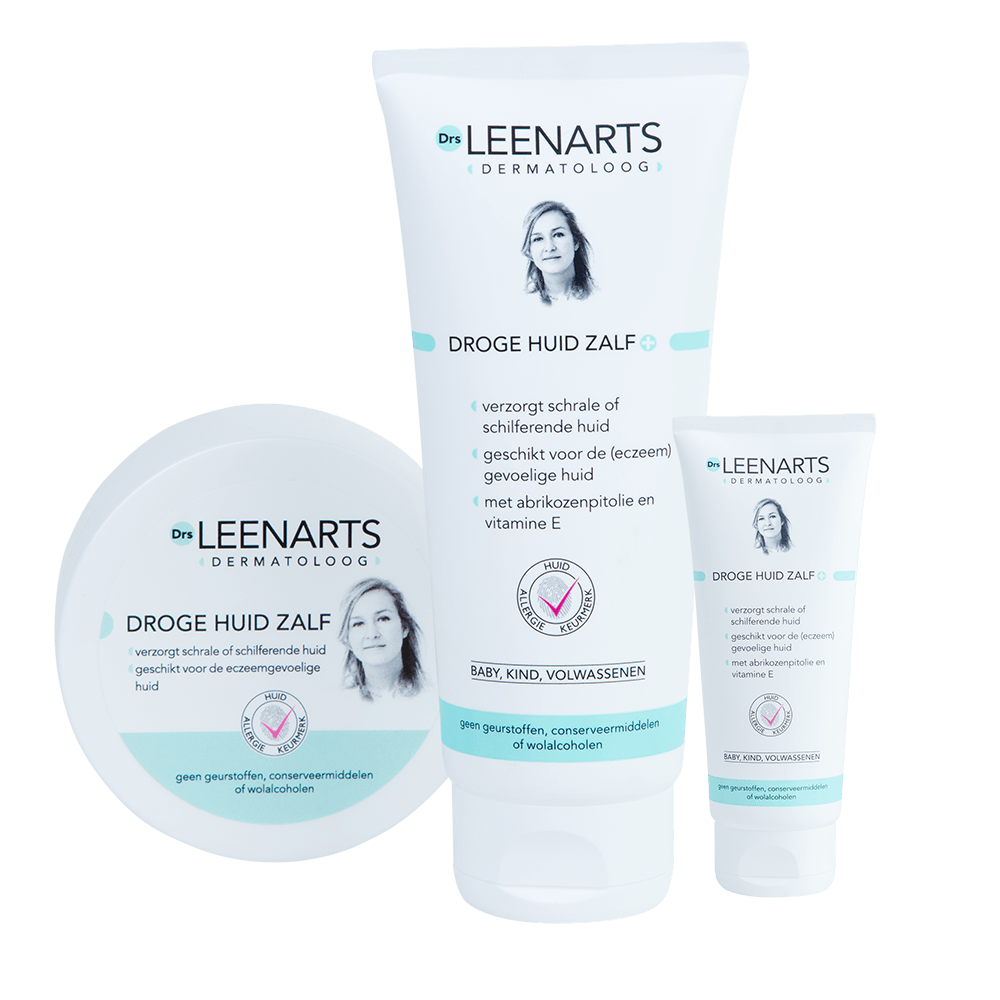 product Droge Huid Zalf van dermatoloog Dr Leenarts voor de eczeem gevoelige huid