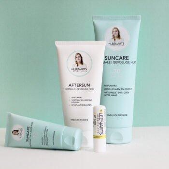 Suncare producten, Aftersun, Lipcare. Welke plekken worden vergeten bij insmeren, Drs Leenarts.