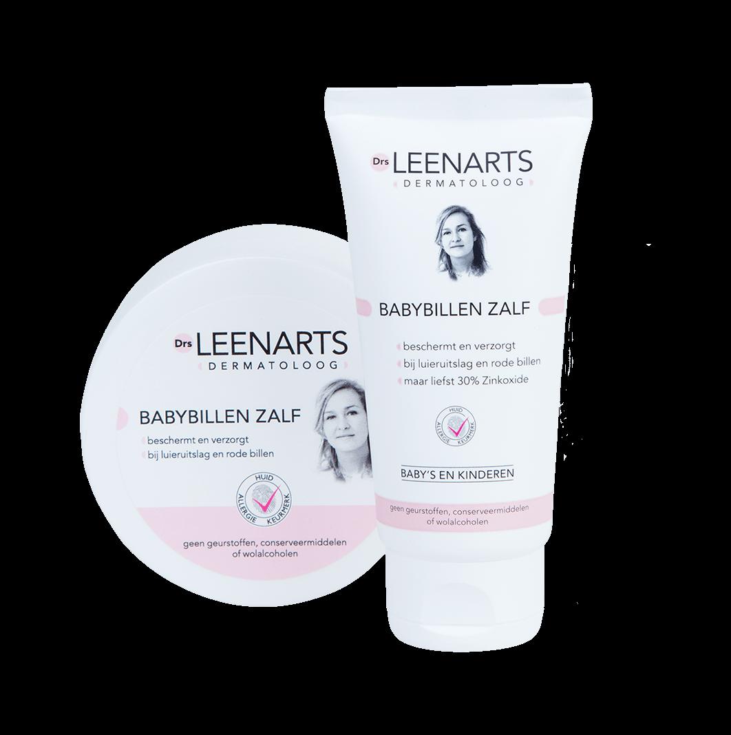 Drs Leenarts | dermatoloog | babybillen zalf 100ml en 50 ml