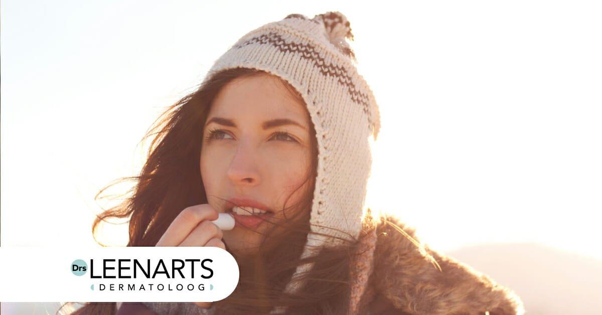Droge winterhuid verminderde talgproductie lagere luchtvochtigheid winter huidverzorging