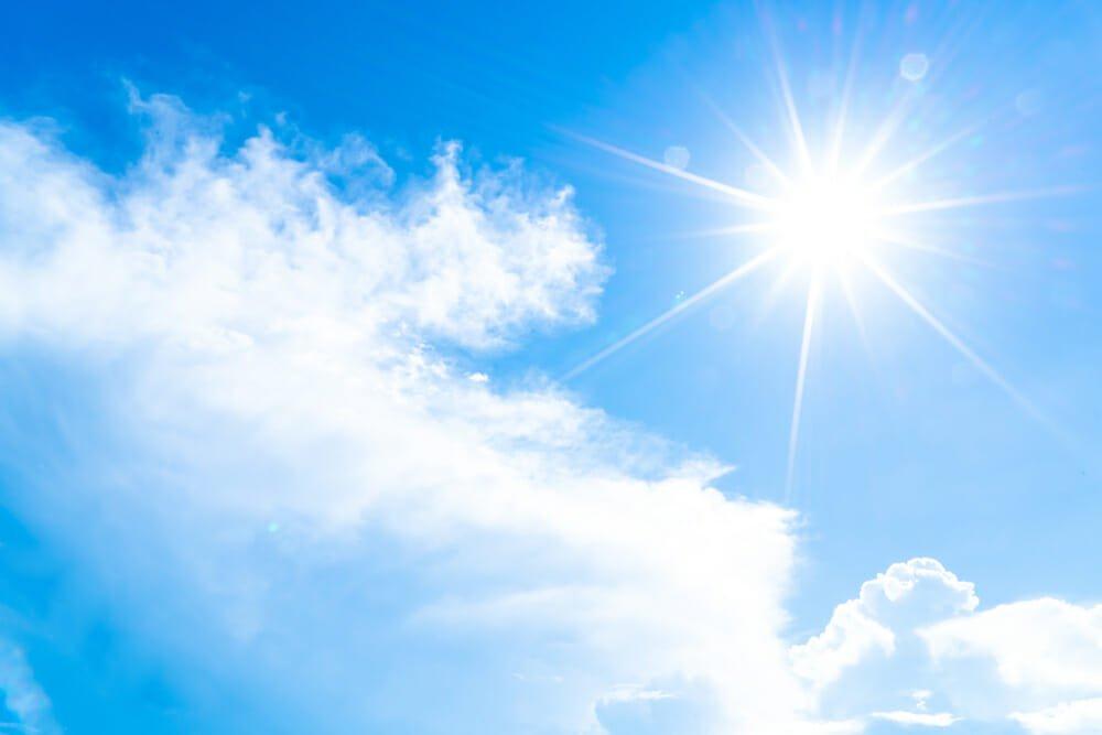 UV-straling, ondanks bewolking
