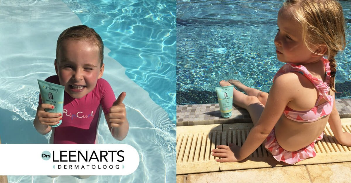 Drs Leenarts suncare is waterresistent