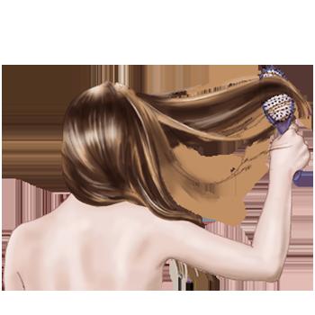 haarverzorging bij een droge hoofdhuid